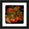 "Studio Works Modern ""Deep Red Carnation"" by Zhee Singer Framed Fine Art Giclee Painting Print"