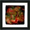 "Studio Works Modern ""Deep Red Carnation"" by Zhee Singer Framed Graphic Art"