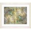 "Studio Works Modern ""Lead Metropolis - "" by Zhee Singer Framed Fine Art Giclee Painting Print"