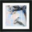 "Studio Works Modern ""Summer Blue Morning Bloom Flower"" by Zhee Singer Framed Graphic Art"