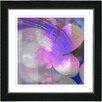 "Studio Works Modern ""Purple Morning Glory"" by Zhee Singer Framed Graphic Art"