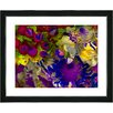 "Studio Works Modern ""Flowers and Berries"" by Zhee Singer Framed Graphic Art"