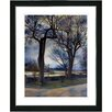 "Studio Works Modern ""Country Lane"" by Mia Singer Framed Fine Art Giclee Photographic Print"