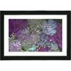 "Studio Works Modern ""Purple Scented Bloom"" by Zhee Singer Framed Graphic Art"