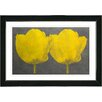 Studio Works Modern 'Twin Tulips Canvas' by Zhee Singer Painting Print on Canvas