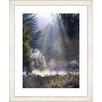 "Studio Works Modern ""Morning Light"" by Mia Singer Framed Fine Art Giclee Photographic Painting Print"