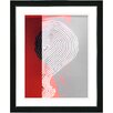 "Studio Works Modern ""Signature"" by Zhee Singer Framed Fine Art Giclee Painting Print"