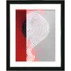 "Studio Works Modern ""Signature"" by Zhee Singer Framed Fine Art Giclee Painting Print"