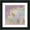 "Studio Works Modern ""Tapestry Rose"" by Zhee Singer Framed Fine Art Giclee Painting Print"
