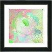 "Studio Works Modern ""Pastel Green Iphigenia"" by Zhee Singer Framed Fine Art Giclee Painting Print"