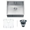 "<strong>Ruvati</strong> Nesta 23"" x 20"" Undermount Single Bowl Kitchen Sink"