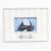 """DEI Latitude 38 4"""" x 6"""" Nautical Wood Picture Frame with Cleat"""