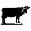 "DEI Farm to Table Cow Standing 1' 2"" x 1' Chalkboard"