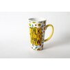 <strong>Mr. Snugs Cat  Stoneware Latte Mug</strong> by DEI
