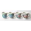 DEI Lucky Dog Sassy Sayings Stoneware 20 oz. Jumbo Mug (Set of 4)