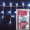 <strong>24 Light Micro Mini Icicle LED Lights</strong> by Brite Star