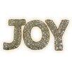 Brite Star Spun Glitter 100 Light Joy Sign Silhouette