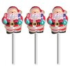<strong>Brite Star</strong> LED Icy Santa Pathmarkers Christmas Decoration (Set of 3)