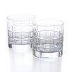 <strong>Street Double Old Fashioned Glass (Set of 2)</strong> by Orrefors