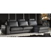 Eurosace Elite Soneto Sectional - Top Grain Italian Leather