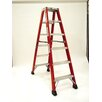 <strong>4.1' Heavy Duty Double Front Step Ladder</strong> by Michigan Ladder
