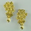 <strong>Flower Design Drop Earrings</strong> by Sai Brazil