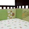 Lambs & Ivy Papagayo 4 Piece Bumper Set