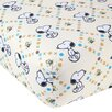 Lambs & Ivy BFF Snoopy™ Fitted Sheet