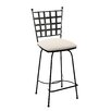 "Charleston Forge Etrusche 26"" Bar Stool with Cushion"