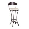 "Charleston Forge Hudson 30"" Swivel Bar Stool with Cushion"
