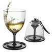 AdNArt Stack N'Go Vino Wine Glasses (Set of 2)