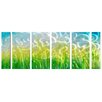 <strong>Pure Art</strong> Abstract Sculptures Fields 6 Piece Original Painting Plaque Set