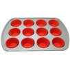 <strong>Le Chef</strong> 12 Muffin Baking Pan with 12 Cup