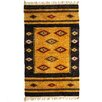 <strong>Symmetry Deep Purple Dhurrie Rug</strong> by Mela Artisans