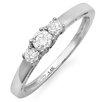 Dazzling Rock 14K White Gold Round Cut Diamond Ring