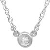 Dazzling Rock 14K White Gold Diamond Pendant