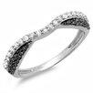 Dazzling Rock 14K White Gold Round Cut Diamond Anniversary Wedding Band