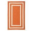 Panama Jack Home Pacific Tangerine Orange/White Indoor/Outdoor Area Rug