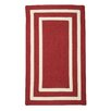 Panama Jack Home Pacific Sangria Red/White Indoor/Outdoor Area Rug