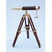 <strong>Handcrafted Model Ships</strong> Floor Standing Harbor Master Decorative Telescope
