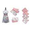 Colonial Textiles PCT 9 Piece Apron Set