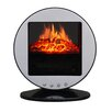 <strong>Stonegate</strong> Oscillating 5115 BTU 120 Volt Desk Top Fireplace Heater