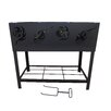 Stonegate BBQ Fire Pit with Log Rack