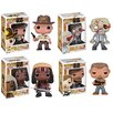 Funko Walking Dead Pop! Vinyl Figures 4 Piece Set