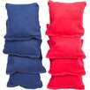 Tailgate360 Premium Mini Bean Bags (Set of 8)