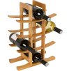 Trademark Innovations 12 Bottle Table Top Wine Rack