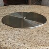 Firetainment Round Stainless Steel Burner Pan Lid