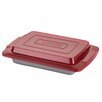 "<strong>Deluxe 9"" x 13"" Nonstick Bakeware Covered Cake Pan</strong> by Cake Boss"