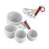<strong>Cake Boss</strong> Countertop Accessories 8 Piece Melamine Measuring Cups and Spoon Set