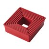 Cake Boss 9 Piece Square Fondant and Cookie Cutter Set